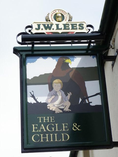 The Eagle & Child (pub) at Hurst Green