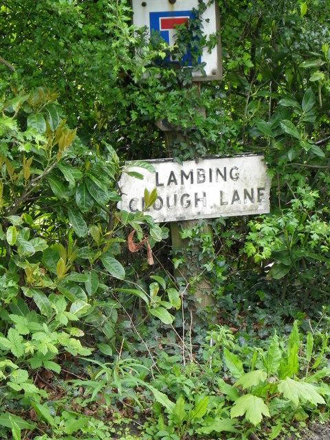 Lambing Clough Lane Hurst Green Village