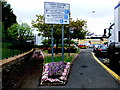 H4572 : Car park sign, Omagh by Kenneth  Allen