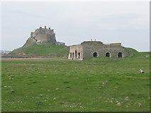 NU1341 : Lindisfarne Castle by G Laird