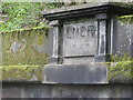 SE2800 : LNER datestone at the Huthwaite Tunnel by Dave Pickersgill