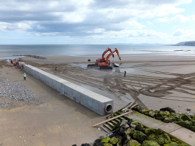 Construction of a new outfall
