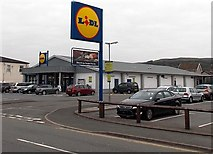 SN9903 : Lidl, Aberdare by Jaggery