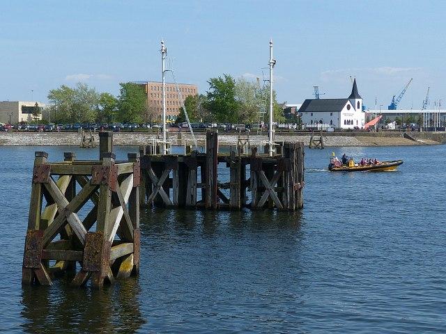 View eastwards across Cardiff Bay