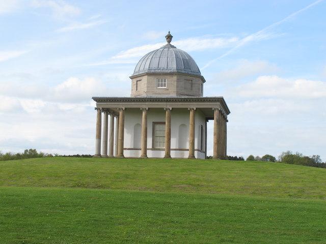 Temple of Minerva in Hardwick Park
