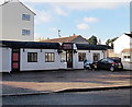 SO8516 : Heron Lodge Funeral Home, Gloucester  by Jaggery