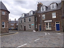 NO8785 : Junction of Shorehead with High Street, Stonehaven by Stanley Howe