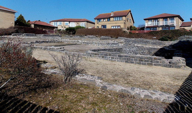 Roman Ruins In Cold Knap  Barry  U00a9 Jaggery    Geograph Britain And Ireland