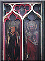 TL2744 : Guilden Morden: St Mary - rood screen detail by John Sutton