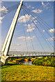 SO8453 : Worcester : Diglis Bridge & River Severn by Lewis Clarke