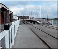 ST1167 : Waterfront Platform, Barry by Jaggery
