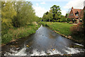 SK9237 : River Witham by Richard Croft