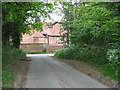 TG3109 : View towards Witton Hall from Witton Lane by Evelyn Simak