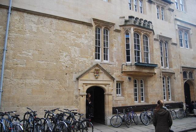 Entrance to St Edmund Hall