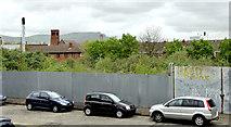 J3373 : Development site, Utility Street, Belfast - May 2014(2) by Albert Bridge