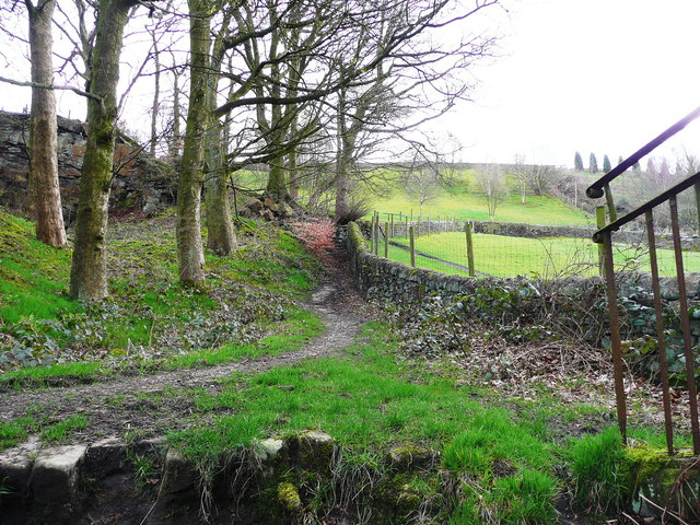 Permissive bridleway from the disused railway to Long Lane