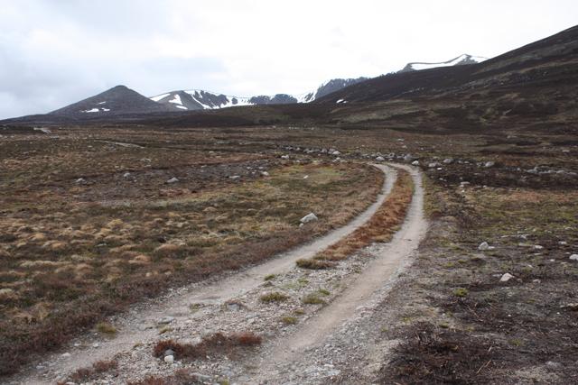 Track near Gelder Shiel