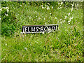 TM4393 : Elms Road sign by Adrian Cable