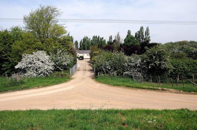 Entrance to Northey Lodge caravan site