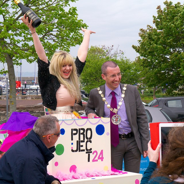 'Project 24' party, Bangor
