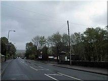 SE1307 : Woodhead Road, Burnlee, Holmfirth by Steve  Fareham
