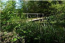 """SU4828 : Disused """"Bull Drove"""" public swimming pool by Jim Champion"""