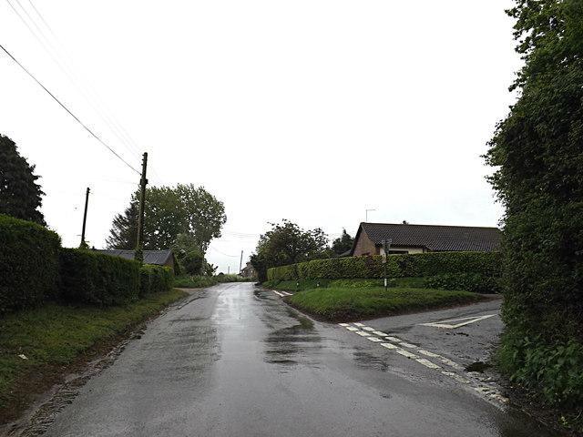 Station Road, Aldeby