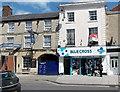 ST8745 : Blue Cross shop in Warminster by Jaggery