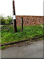 TM4993 : Site of the Waveney Inn Postbox by Adrian Cable