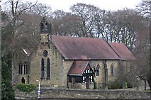 SJ9689 : Marple - St Martin's Church by Dave Bevis