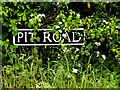 TM4693 : Pit Road sign by Adrian Cable