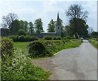 SK8707 : St Edmund's Church in the village of Egleton by Mat Fascione