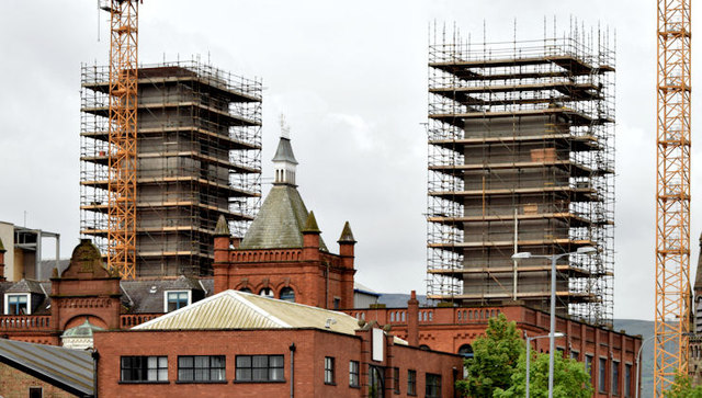 "Block ""B"", University of Ulster site, Belfast - May 2014(1)"