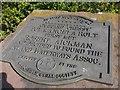 SO9969 : Commemorative plaque, Tardebigge Top Lock by Christopher Hall