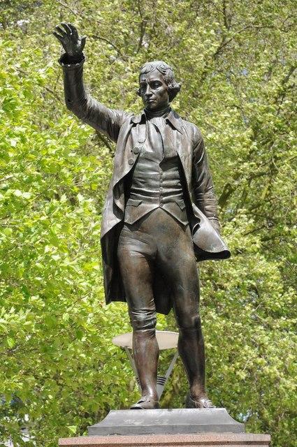 Statue of Edmund Burke