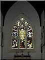 TM4593 : Stained Glass Window of St.Mary the Virgin Church by Adrian Cable