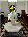 TM4593 : Font of St.Mary the Virgin Church by Adrian Cable