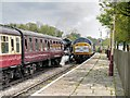 "SD7916 : ""The Diesel"" Arrives at Ramsbottom by David Dixon"