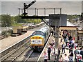 """SD7916 : """"The Diesel"""" at Ramsbottom Station by David Dixon"""