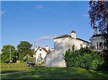 TQ0866 : Houses in Walton Lane, Lower Halliford by Stefan Czapski