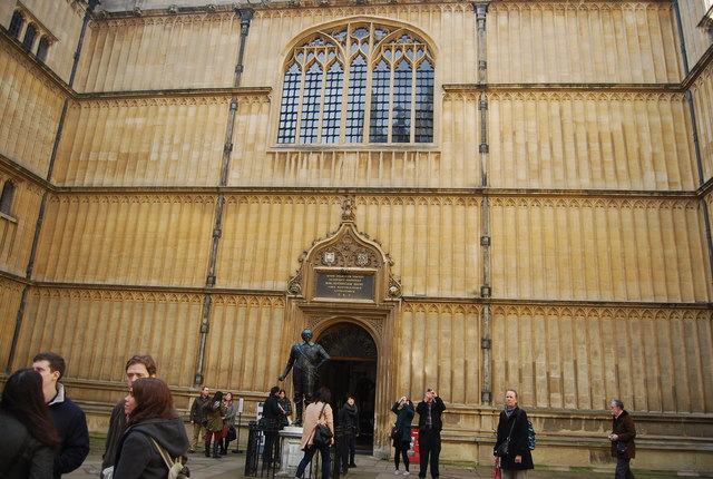 Inside the Bodleian Library