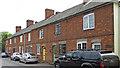 TL8348 : Row of houses, Bells Lane, Glemsford by Roger Jones