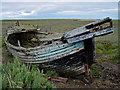 TG0244 : Derelict fishing boat by Kim Fyson
