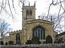 SK5198 : Conisbrough - St Peter's Parish Church by Dave Bevis