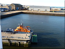 NJ9505 : Lifeboat station by James Allan