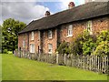 SJ7387 : Barn Cottages, Dunham Massey Estate by David Dixon