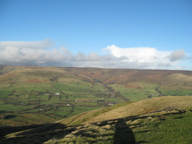 North to Grindslow Knoll and Edale-Derbyshire