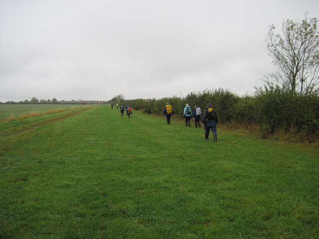 Footpath  to  Long  Riston.