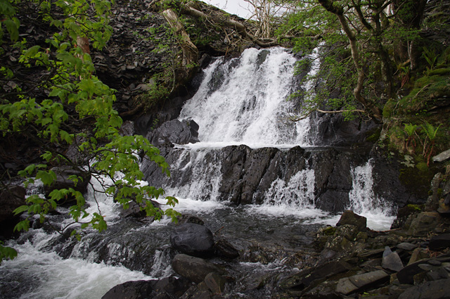 Waterfall on Torver Beck