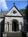 TQ2274 : Lyne-Stephens mausoleum by Mark Percy
